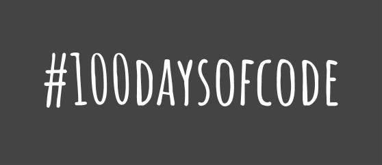 100DaysOfCode Challenge